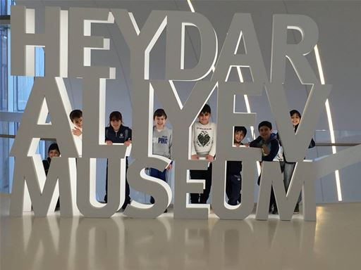 Students in Grades 3 and 4 Take a Trip to the Museum