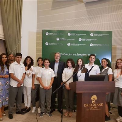 BBG, AmCham, and SABIS® President Visit our School