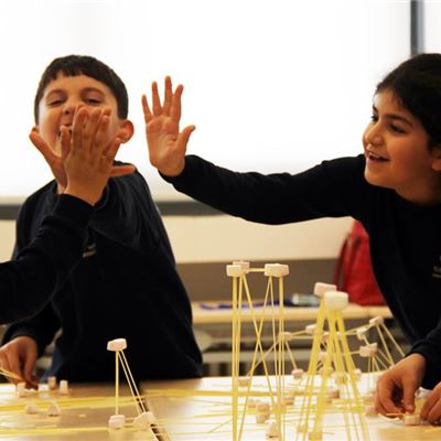 Students Enjoy Engineering Master Lesson