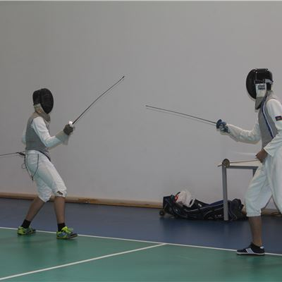 Fencing Demonstration