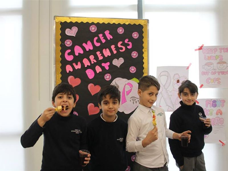 SLO® Prefects Hold Cancer Awareness Day