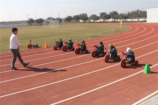Tricycle Race for KG1 students
