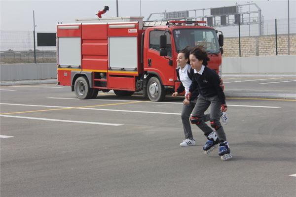 Roller Skate Race