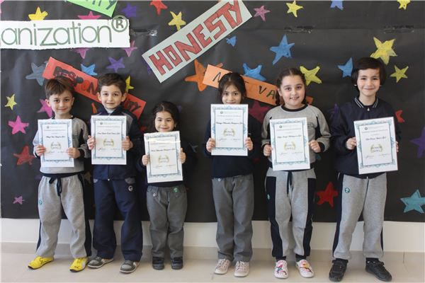 Academic excellence certificates T3, week 27