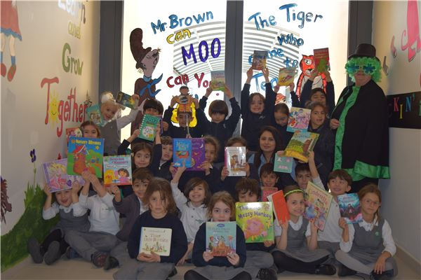 Infants Department celebrates World book day