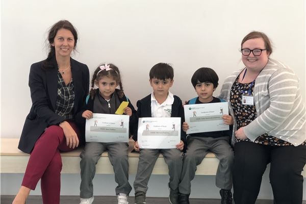 Infants Outstanding September Students