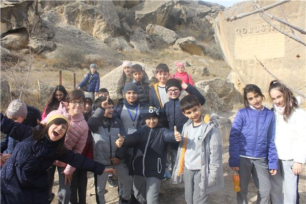 Trip to the Archeological Museum in Gobustan.