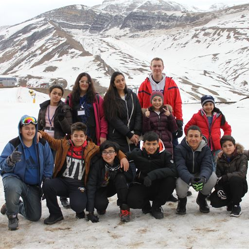 "SABIS® Sun students take ski trip to ""SHAHDAGH"""
