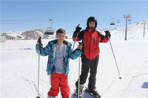 A Wonderful Ski Run in Shahdagh